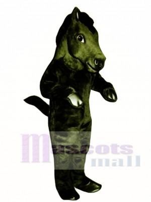 Cute Mustang Horse Mascot Costume Animal