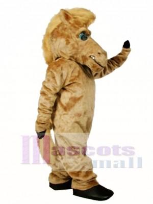Cute Pepper Wild Stallion Horse Mascot Costume Animal