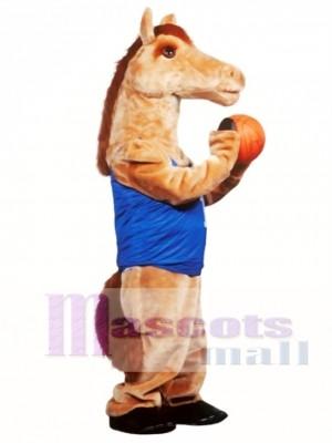 Cute Mustang Mascot Costume Animal
