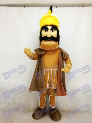 Trojan Warrior Mascot Costume with a Cloak