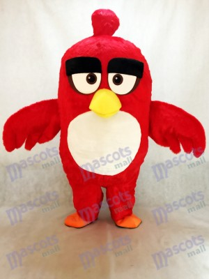 Cute Red Bird Animation Animal Mascot Costume