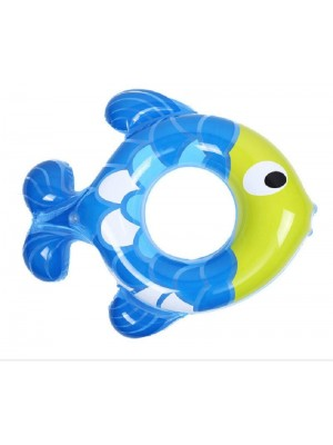 Inflatable Baby Fish Shape Pool Float Swimming Ring