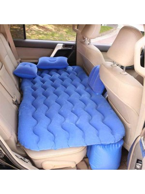 Inflatable Bed Universal Car Seat Bed with 2 Air Pillows Picnic Mat