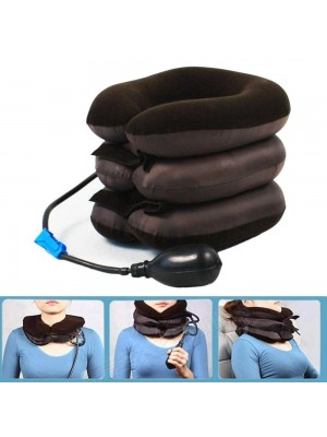 Inflatable U-Shape Travel Pillow Car Head Neck Rest Useful