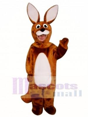 Cute Kangaroo Mascot Costume Animal