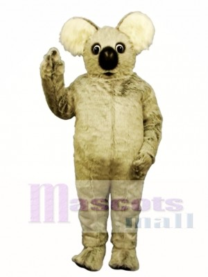 Cute Kuddly Koala Bear Mascot Costume Animal