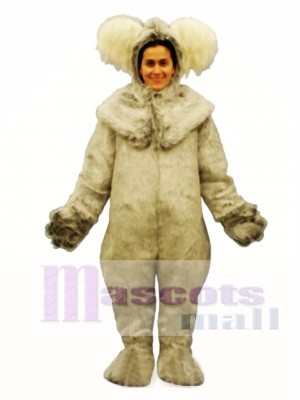 Koala with Hood Mascot Costume Animal
