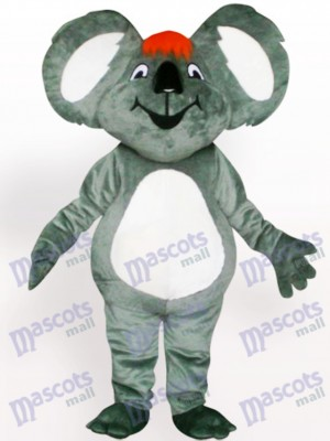 Koala With Orange Hair Adult Mascot Costume