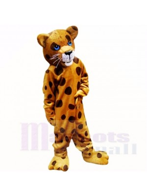 Strong Spotted Leopard Mascot Costumes Adult