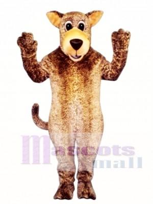 Cute Leo Leopard Mascot Costume Animal