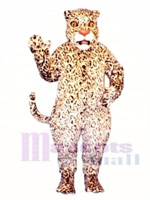 Cute Leopard Mascot Costume Animal