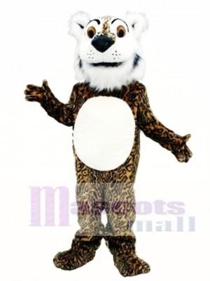 Comic Leopard Mascot Costume Animal