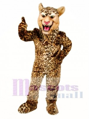 Leopard/Cheetah/Jaguar Mascot Costume Animal