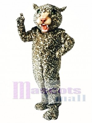 Big Cat Leopard Mascot Costume Animal