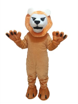 Fierce Mean Lion Mascot Costume