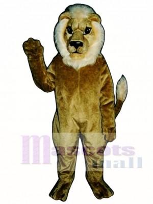 Blonde Lion Mascot Costume Animal