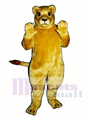 Cute Lioness Lion Mascot Costume Animal