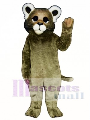 Cute Baby Cougar Mascot Costume Animal