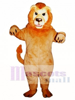 Mean Lion Mascot Costume Animal