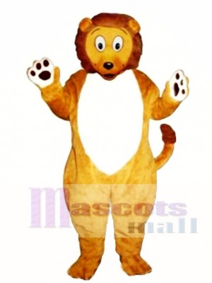 Cute Little Lion Mascot Costume Animal