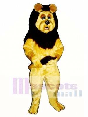 Cowardly Lion Mascot Costume Animal