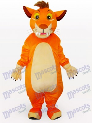 Lion Animal Mascot Costume