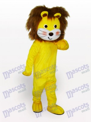Yellow Lion Animal Mascot Costume