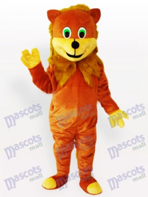 African Lion Adult Animal Mascot Costume
