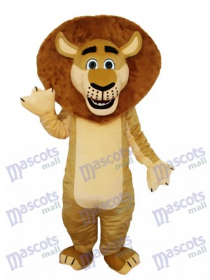 Lion in Madagascar Mascot Costume Animal