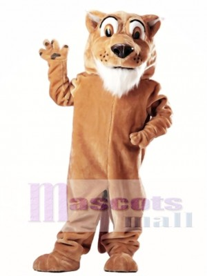 Colby Cougar Mascot Costume Animal Animal