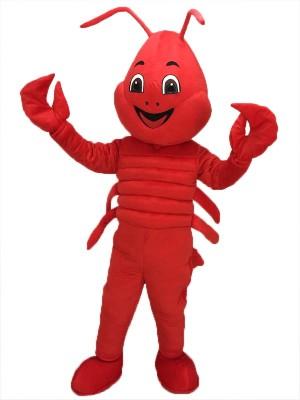 Red Lobster Mascot Costume Sea
