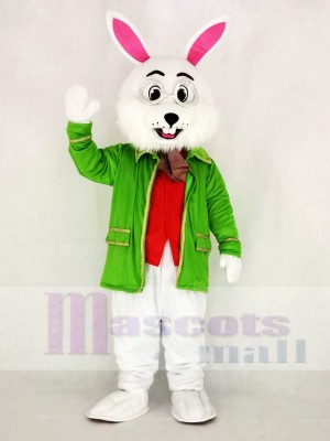 Realistic Wendell Green Easter Bunny Rabbit Mascot Costume Cartoon