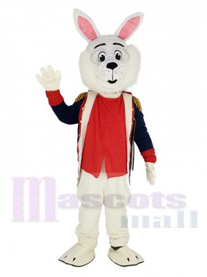 Colonel Wendell Rabbit Mascot Costume Animal