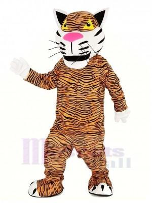 Strong Tiger Mascot Costume Animal