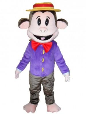 Smart Monkey Mascot Costume