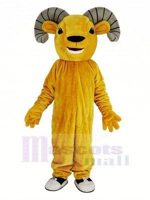 Light Brown Sport Ram Mascot Costume Animal