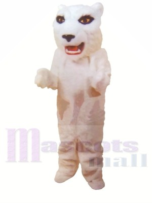 White Lightweight Tiger Mascot Costumes