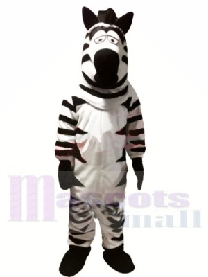 Cheap Funny Zebra Mascot Costumes