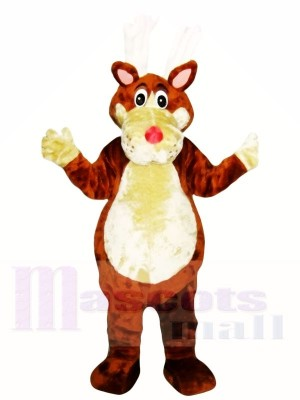 Brown Dog Mascot Adult Costumes
