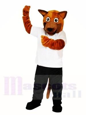 Brown Dog Mascot Costumes Free Shipping