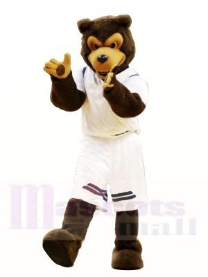 Brown Wolf Mascot Costumes