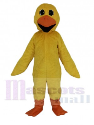 Puddles Yellow Duck Mascot Costume