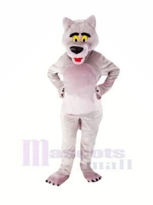Good Quality Grey Wolf Mascot Costumes Cartoon