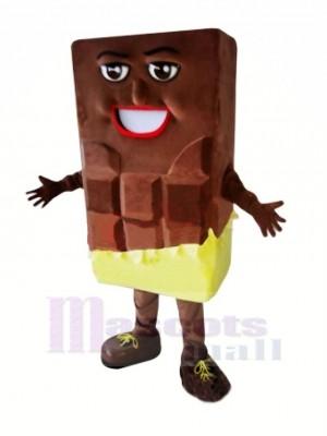 Chocolate Bar Mascot Costume Cartoon