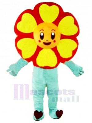 Cheap Sunflower Mascot Costume Cartoon