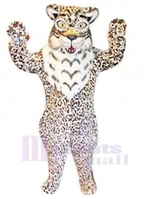 Fierce Strong Bob Cat Mascot Costume Animal