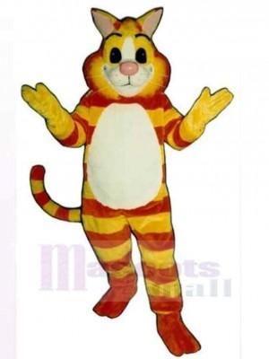 Friendly Cheshire Cat Mascot Costume Animal