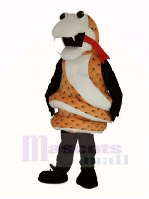 Brown Rattlesnake Mascot Costume