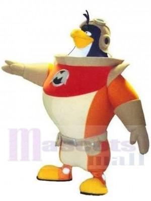 Astronaut Penguin Cosmonaut Mascot Costume Animal