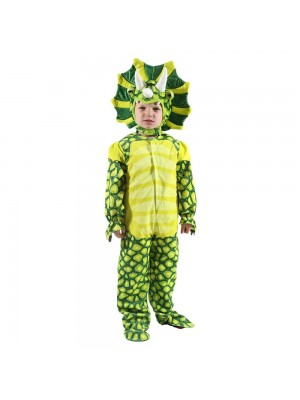 New Triceratops Dinosaur Costume Dinosaur Jumpsuit Halloween Christmas Dress up Gift for Kid